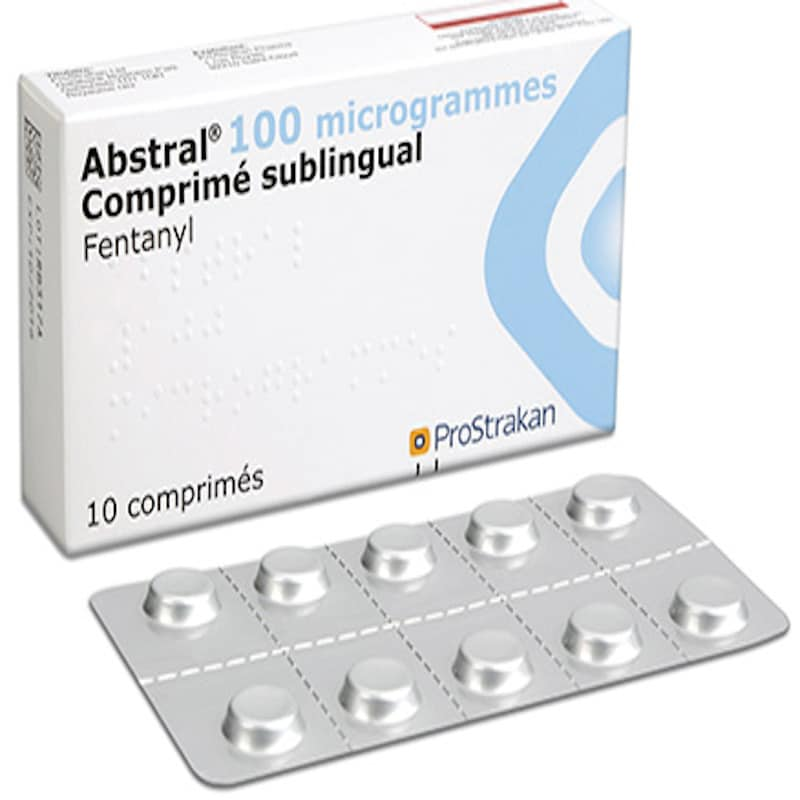 Abstral (Fentanyl) 100 pills per package